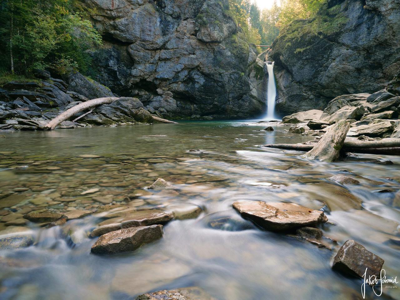 Allgäu Buchenegger Wasserfälle