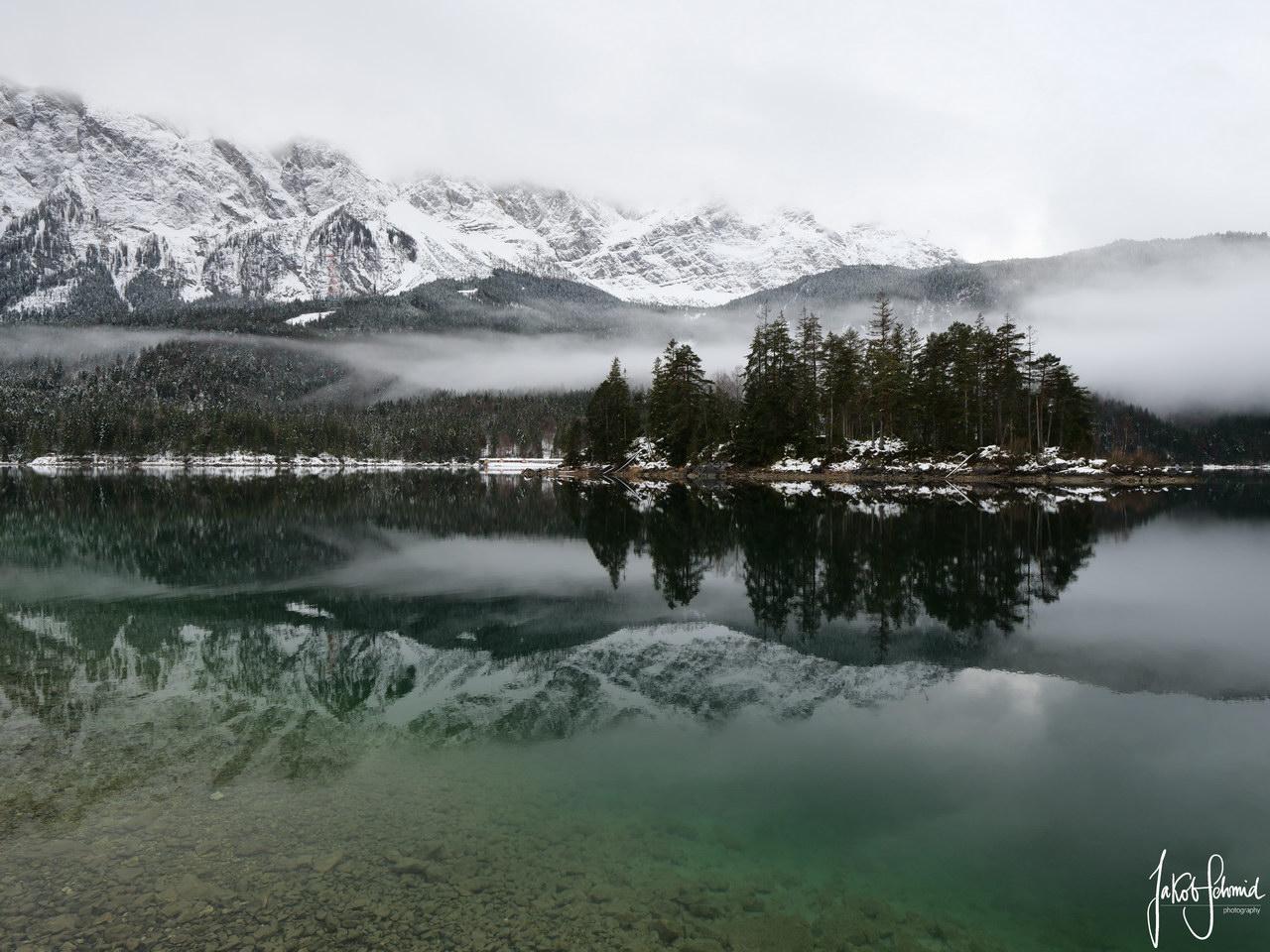 Eibsee Bayern Winter