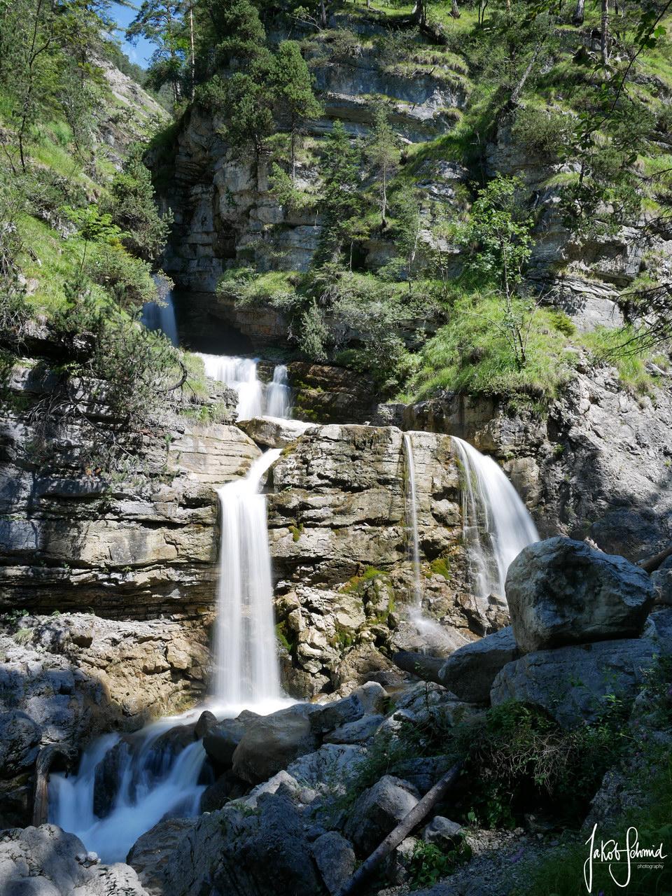 Farchant Kuhflucht Wasserfall