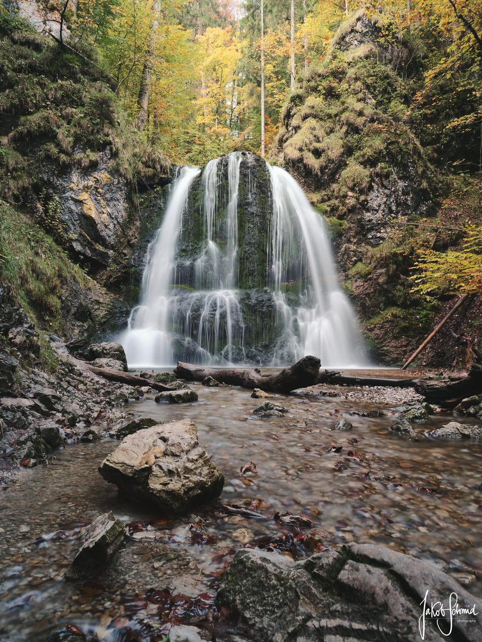 Schliersee Josephstal Wasserfall