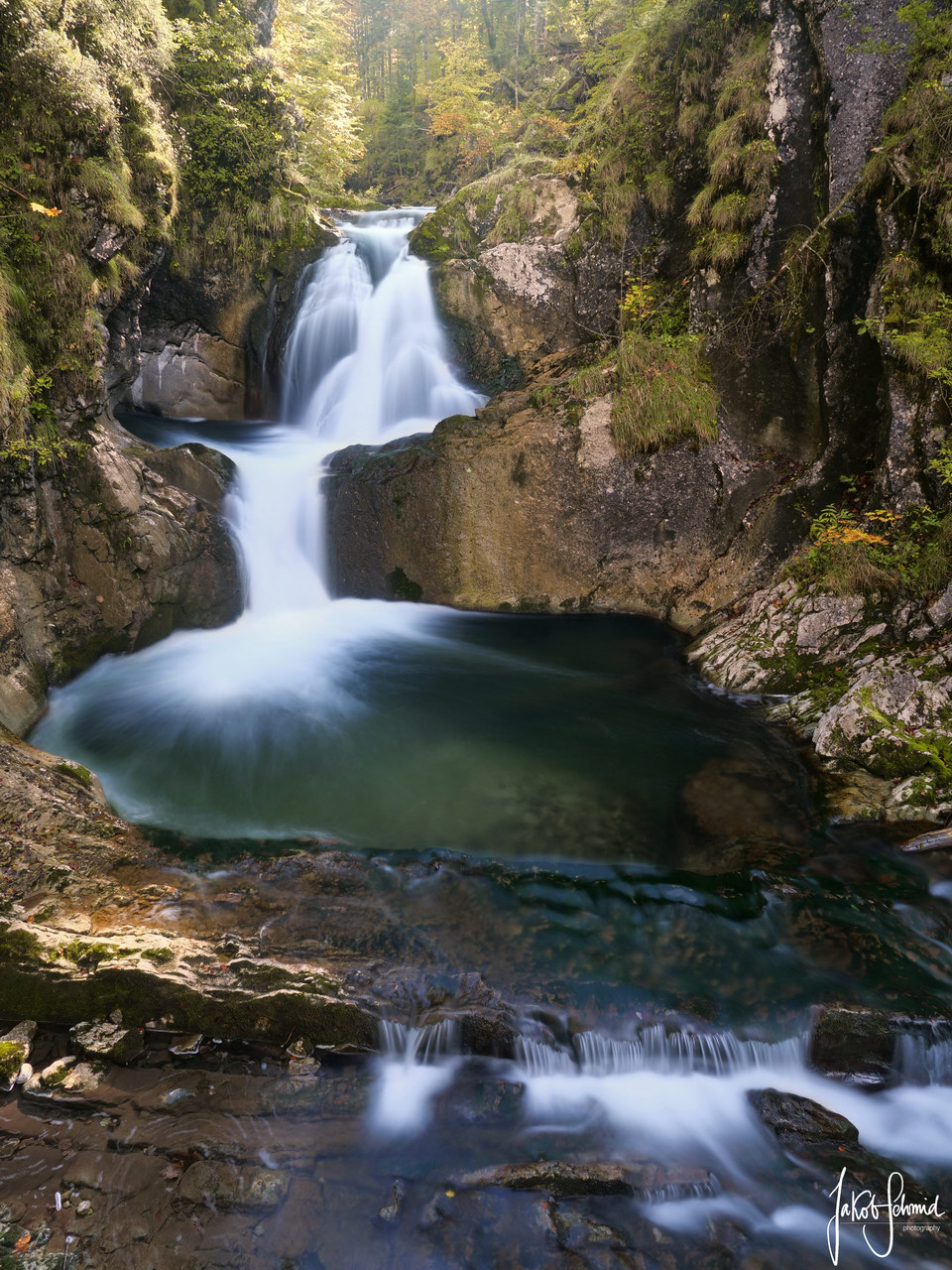 Bayern Wasserfall Rottach-Egern