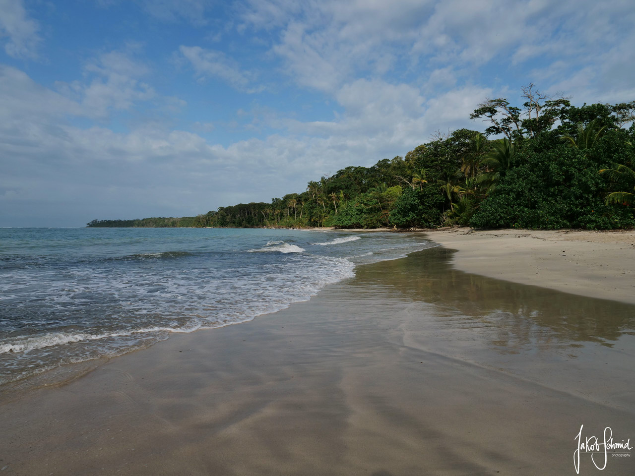 Costa Rica Cahuita Nationalpark Playa Blanca