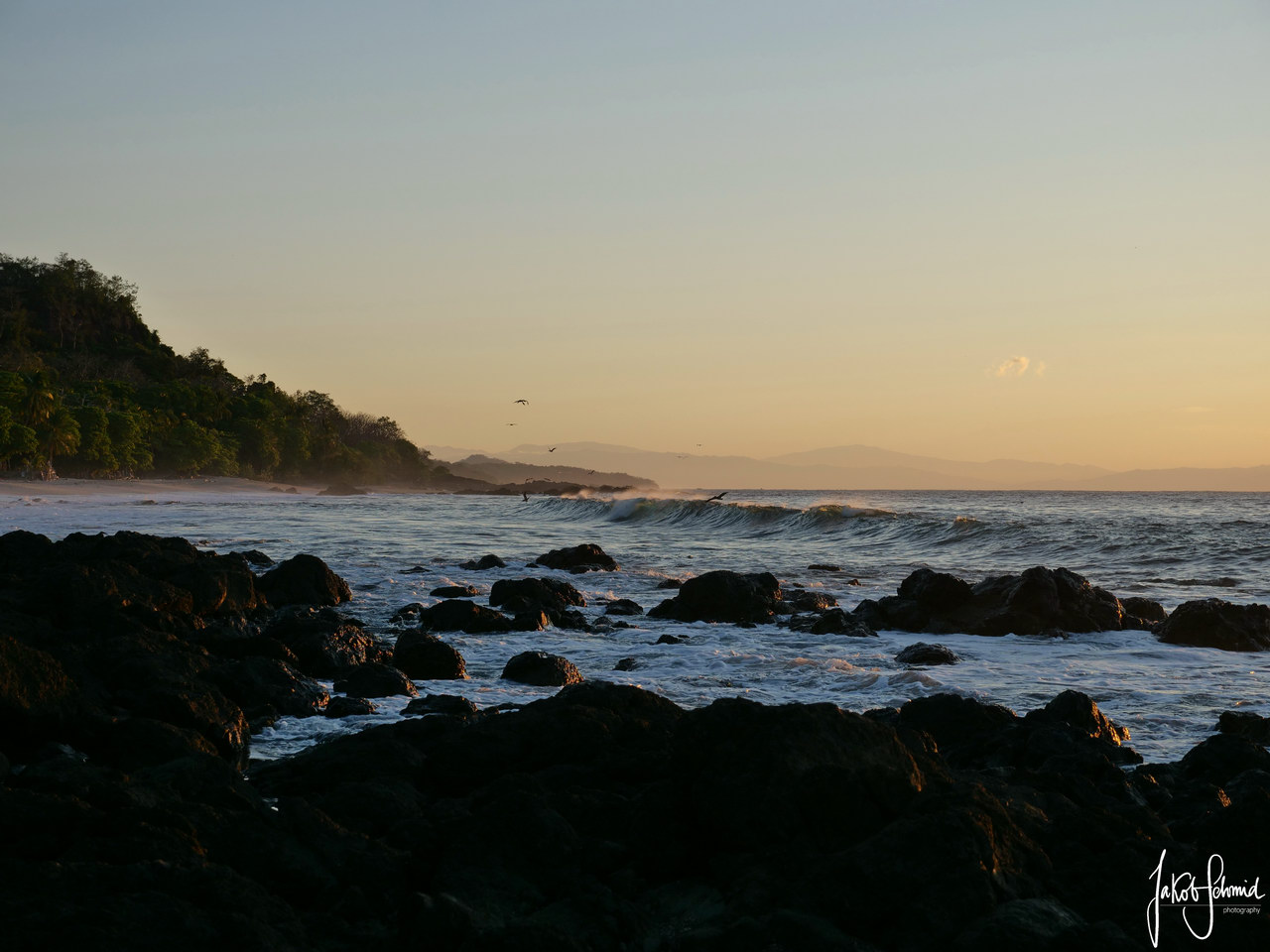 Costa Rica Nicoya Montezuma Sonnenaufgang