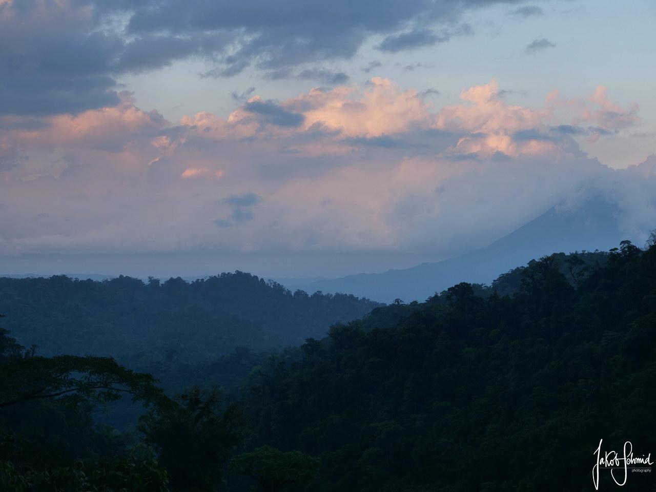 Costa Rica Vulkan Arenal Sonnenuntergang