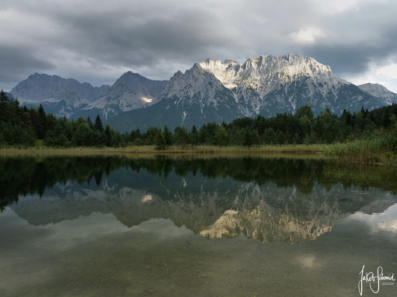 Mittenwald Karwendel Luttensee