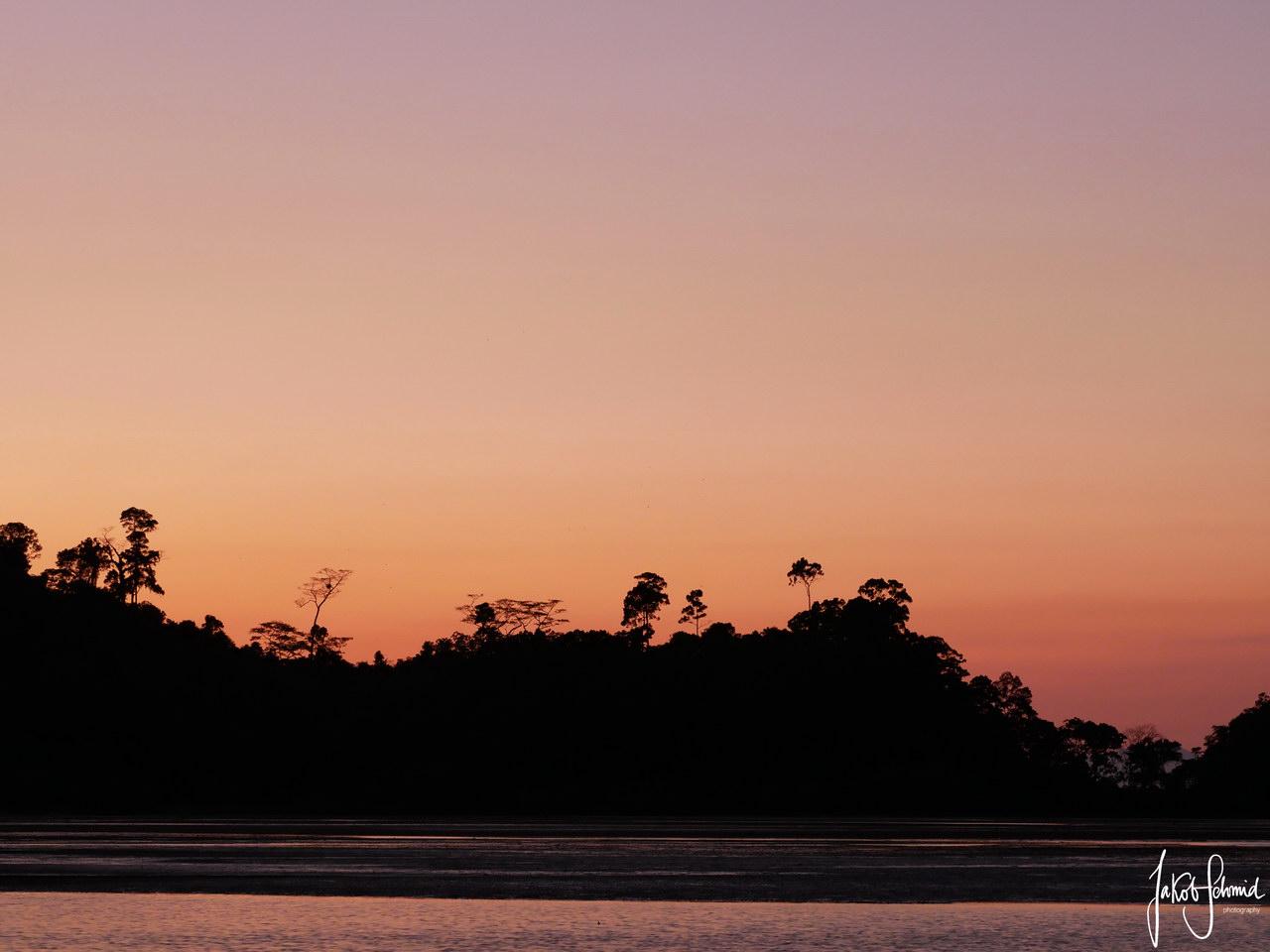 Thailand Ko Phayam Sonnenuntergang