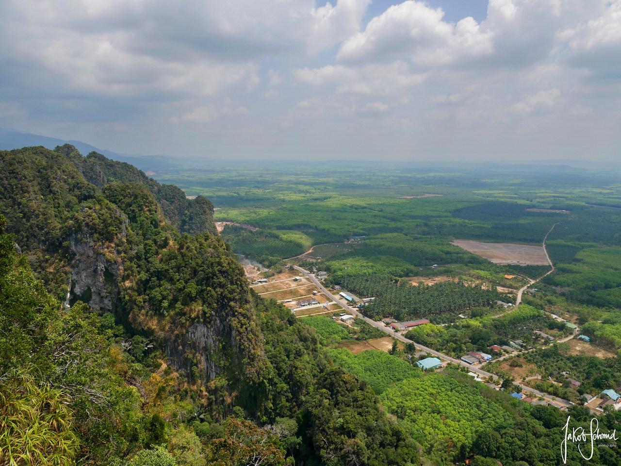 Thailand Krabi Tiger Tempel Aussicht