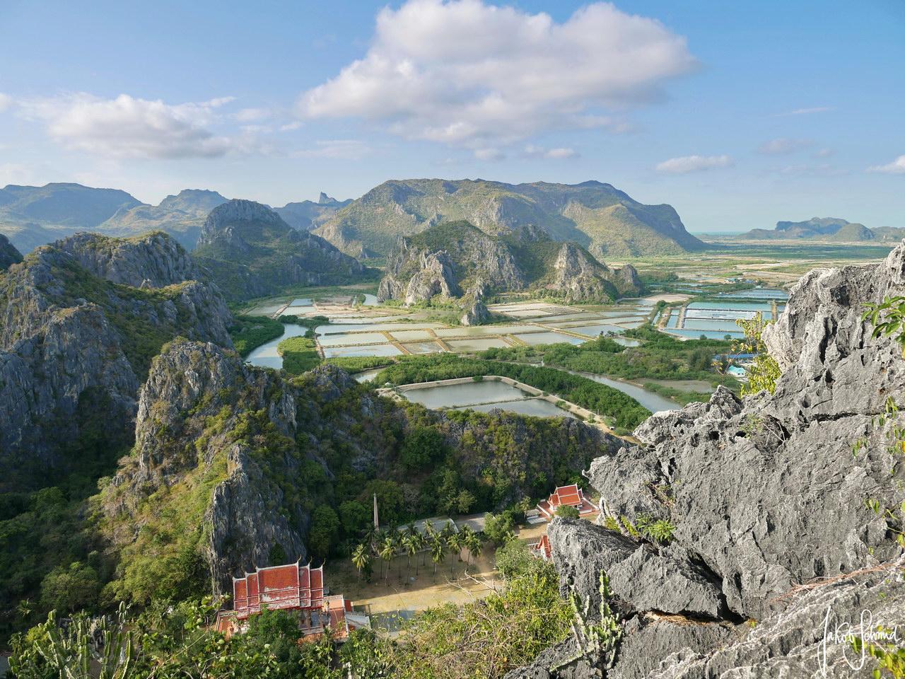 Thailand Nationalpark Khao Sam Roi Yot Khao Daeng Viewpoint