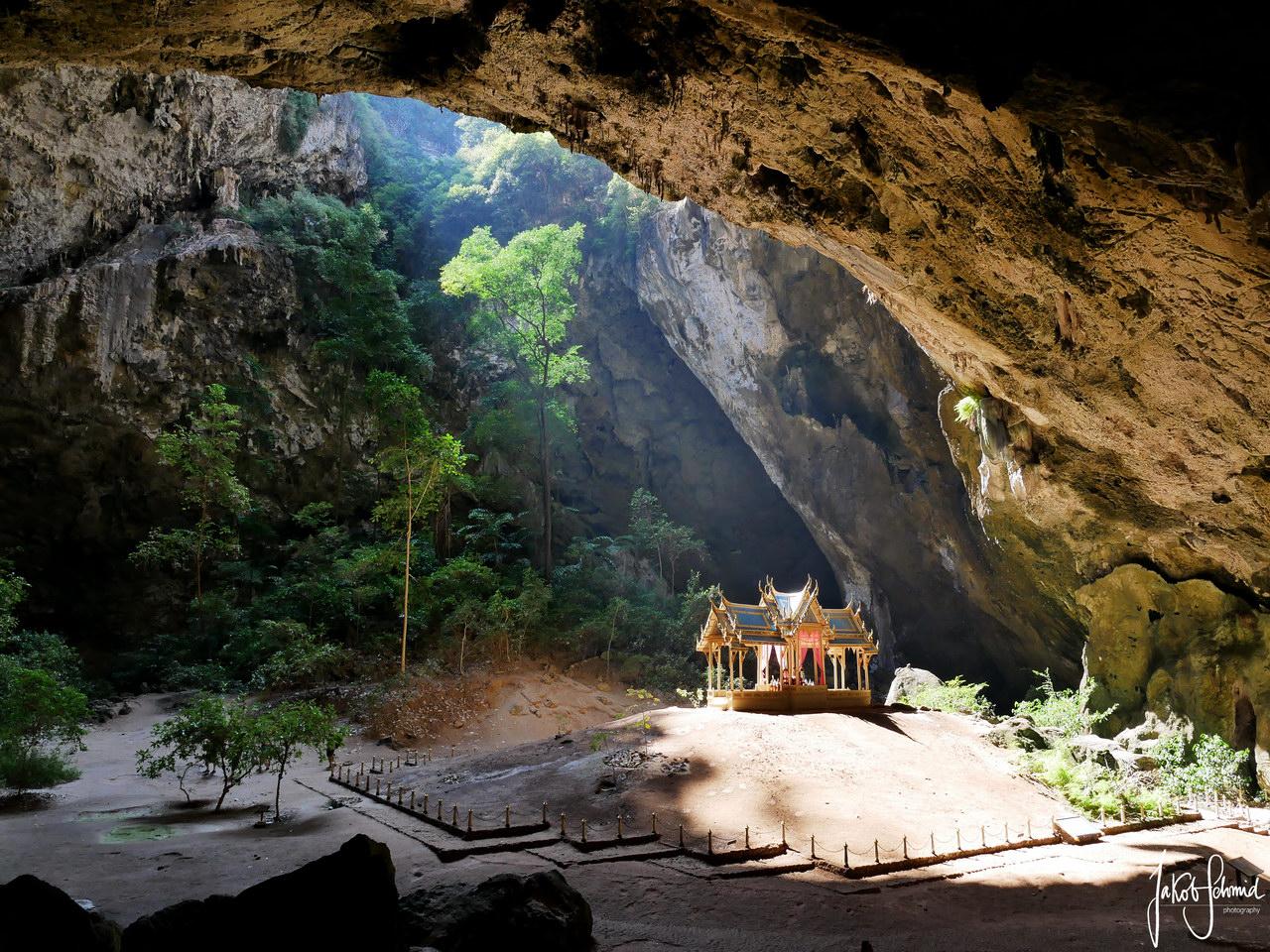 Thailand Nationalpark Khao Sam Roi Yot Phraya Nakhon Pavillon