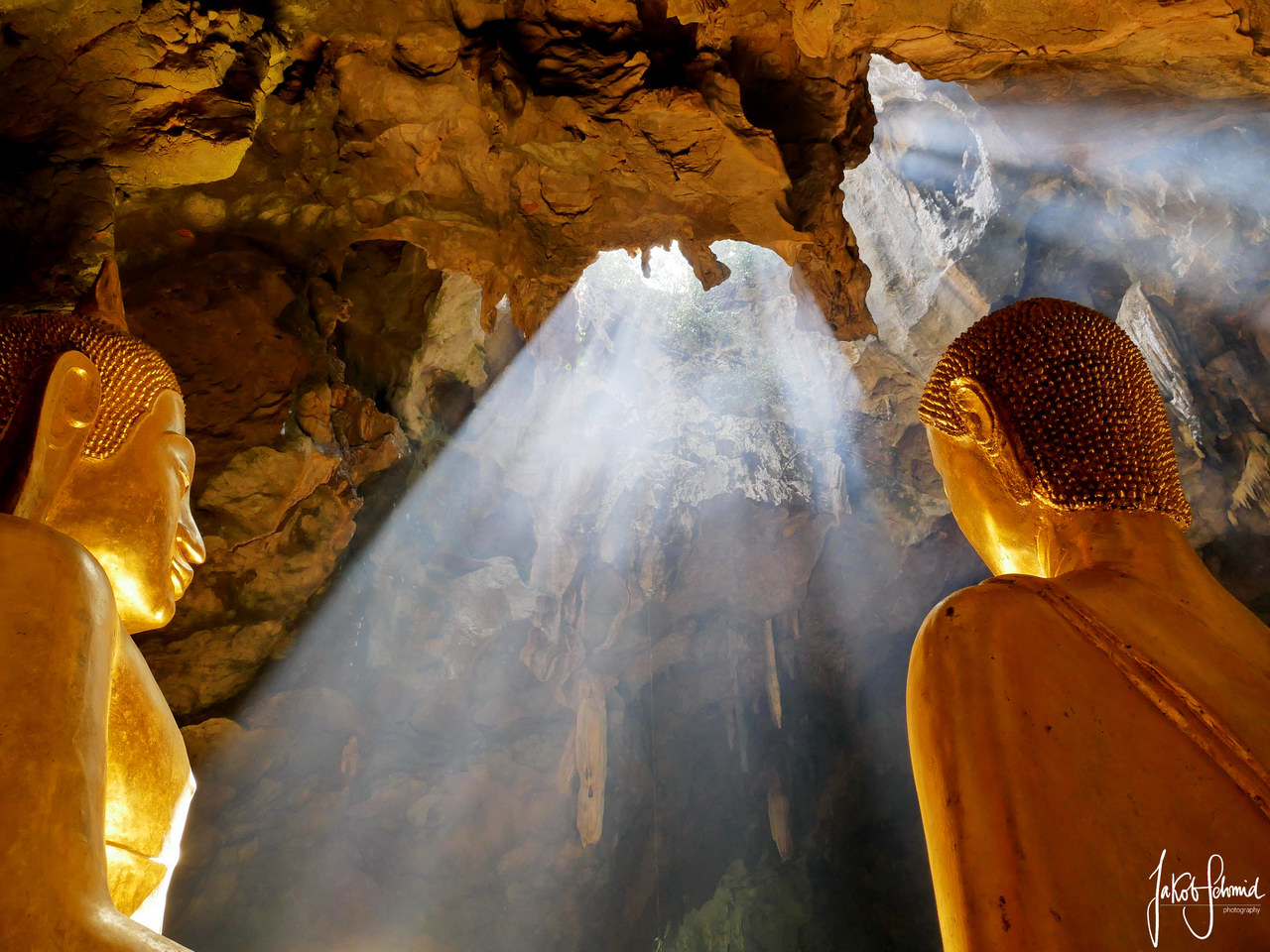 Thailand Phetchaburi Khao Luang Höhle Tempel