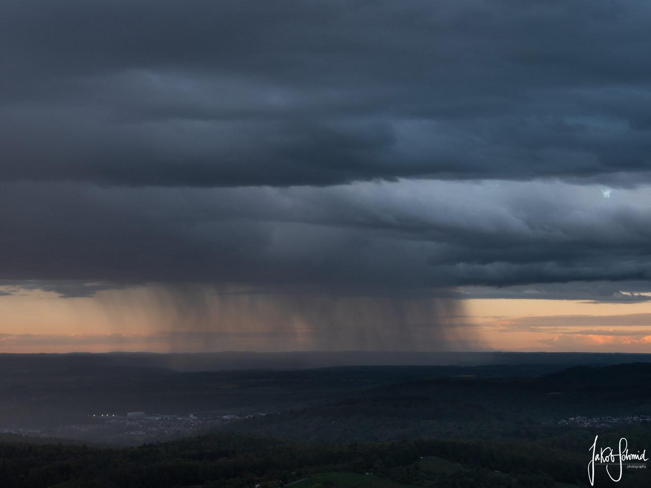 Baden-Württemberg Schwäbische Alb Wolken