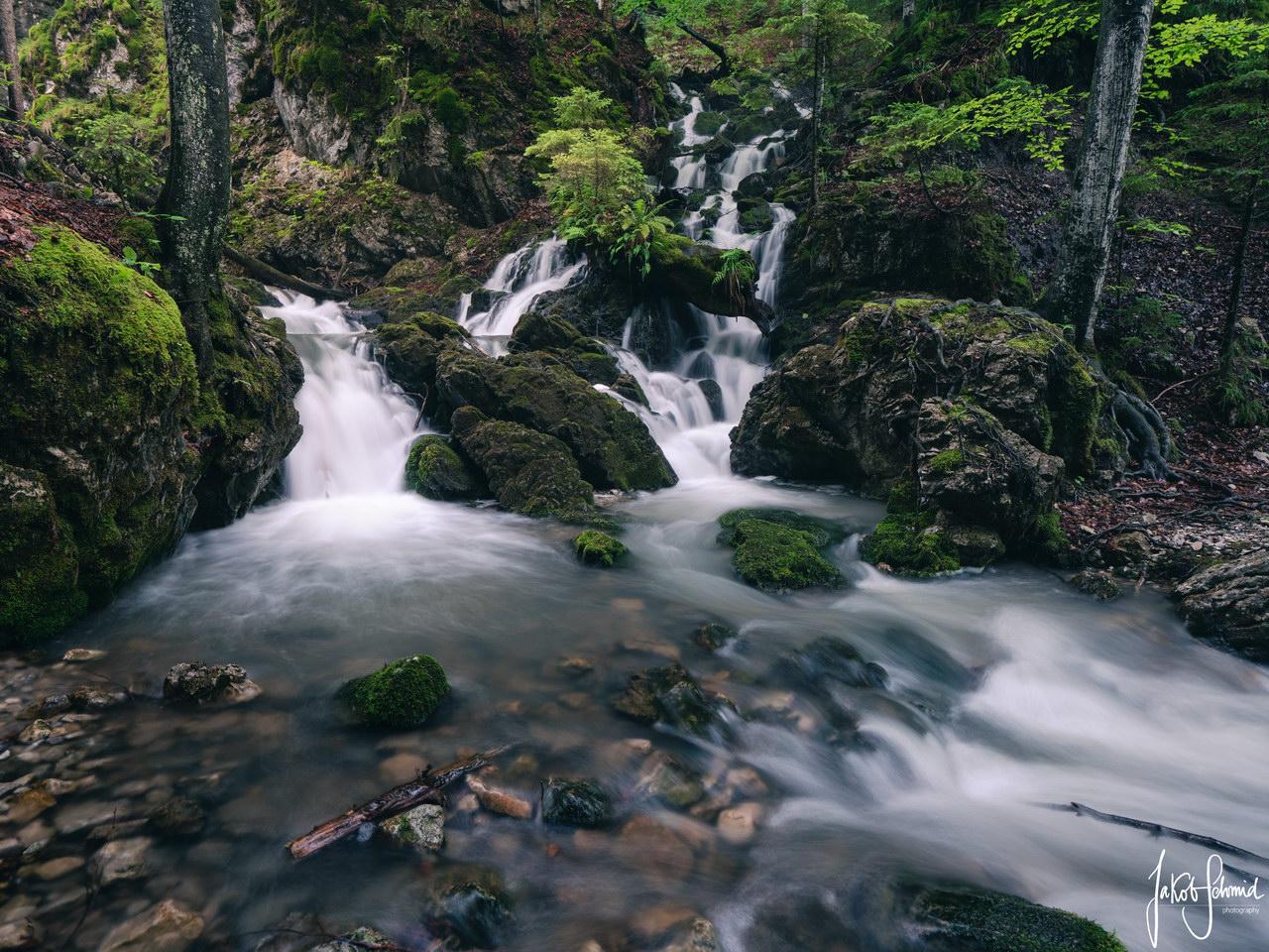 Josephstal Wasserfall Bayern