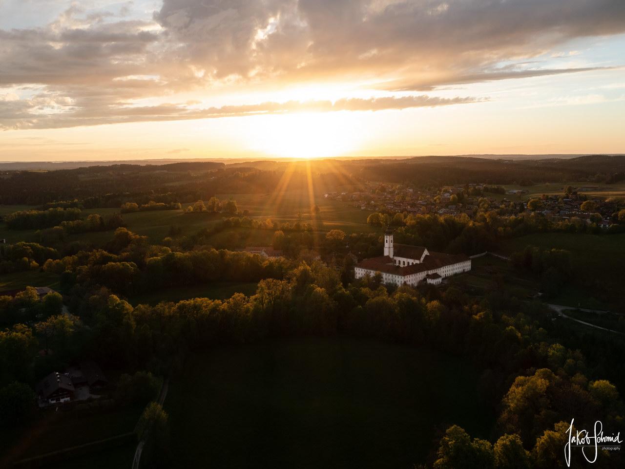 Bayern Kloster Dietramszell