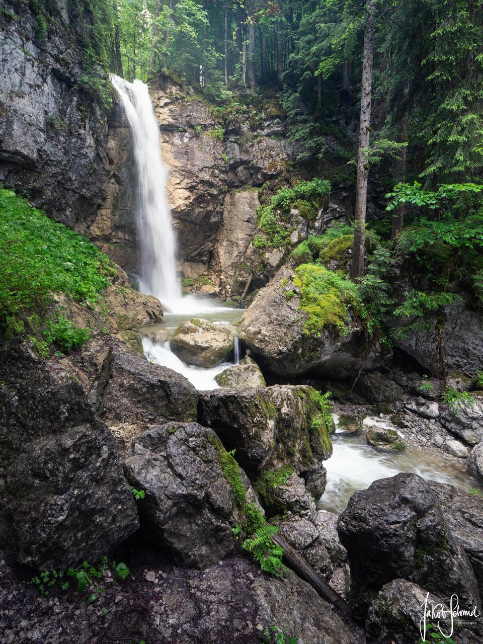 Bayern Sibli Wasserfall